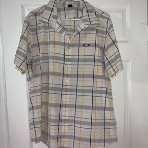 Oakley short sleeve button down